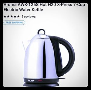 NWT Xpress 7 Cup Kettle